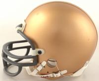 "Angelo Bertelli Signed Heisman Trophy Logo Mini Helmet Inscribed ""Heisman - 43"" (Beckett COA) at PristineAuction.com"