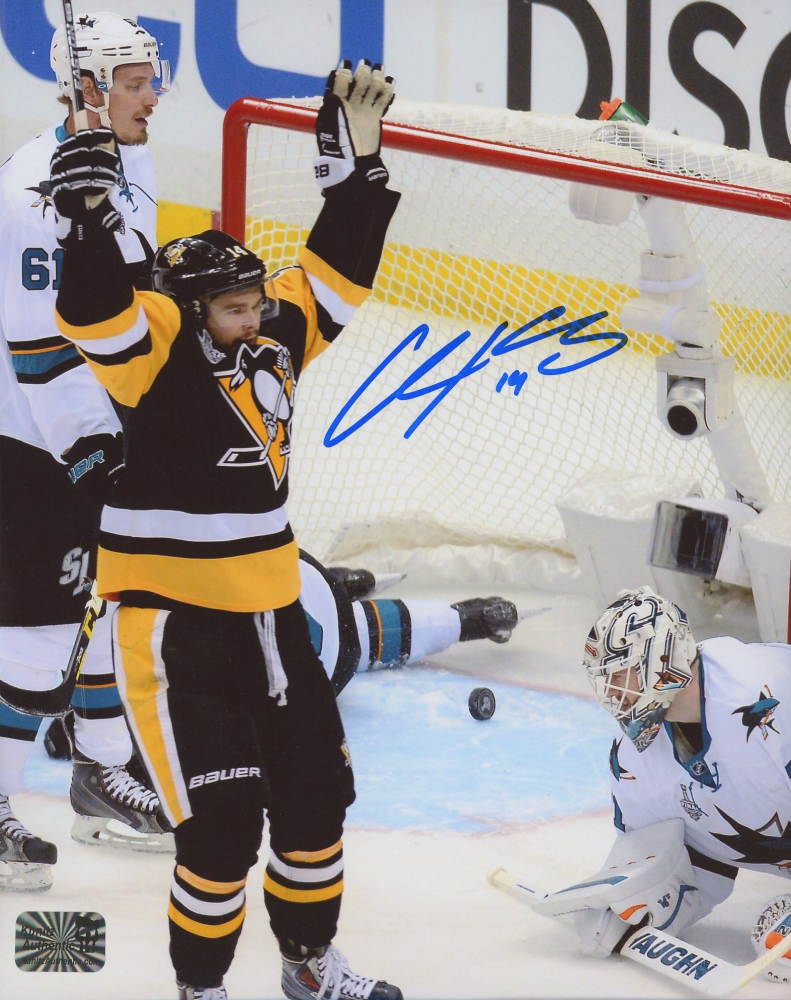 Chris Kunitz Signed Penguins 8x10 Photo (Kunitz COA) at PristineAuction.com