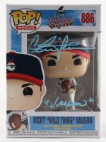 "Charlie Sheen Signed ""Major League"" Ricky ""Wild Thing"" Vaughn #886 Funko Pop! Vinyl Figure Inscribed ""Vaughn"" (JSA COA) (See Description) at PristineAuction.com"