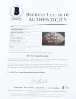 "Bart Starr Signed NFL Football Inscribed ""MVP SB I, II"" & ""HOF 77"" (Beckett LOA & TriStar Hologram) at PristineAuction.com"