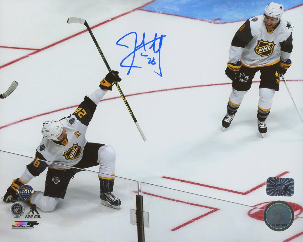 John Scott Signed 2016 NHL All Star 8x10 Photo (Scott COA) at PristineAuction.com