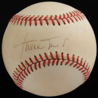 Willie Mays Signed ONL Baseball (Beckett COA) at PristineAuction.com