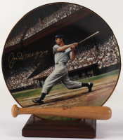 "Joe DiMaggio Signed LE 1993 ""The Streak"" Ceramic Plate (Beckett LOA) at PristineAuction.com"