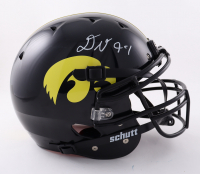 Daviyon Nixon Signed Iowa Hawkeyes Full-Size Authentic On-Field Vengeance Helmet (Beckett Hologram) at PristineAuction.com