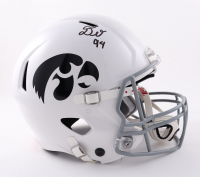 Daviyon Nixon Signed Iowa Hawkeyes Full-Size Authentic On-Field Speed Helmet (Beckett Hologram) at PristineAuction.com