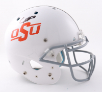 Chuba Hubbard Signed Oklahoma State Cowboys Full-Size Authentic On-Field Vengeance Helmet (Beckett Hologram) (See Description) at PristineAuction.com