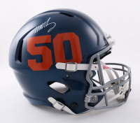 Mike Singletary Signed Full-Size Authentic On-Field Speed Helmet (Beckett Hologram) at PristineAuction.com