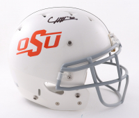 Chuba Hubbard Signed Oklahoma State Cowboys Full-Size Authentic On-Field Vengeance Helmet (Beckett Hologram) at PristineAuction.com
