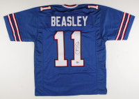 Cole Beasley Signed Jersey (Beckett Hologram) at PristineAuction.com