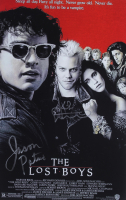 """Jason Patric & Kiefer Sutherland Signed """"The Lost Boys"""" 11x17 Movie Poster (JSA COA) at PristineAuction.com"""