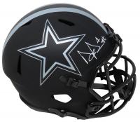 Dak Prescott Signed Cowboys Full-Size Eclipse Alternate Speed Helmet (Schwartz COA) at PristineAuction.com