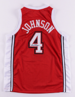 Larry Johnson Signed Jersey (PSA COA) (See Description) at PristineAuction.com