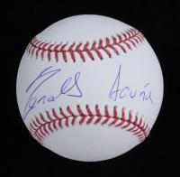 Ronald Acuna Jr. Signed OML Baseball with Rare Full-Name Signature (JSA COA & USASM COA) at PristineAuction.com