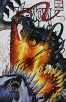 "Donny Cates  & Ryan Stegman Signed 2020 ""Venom"" Vol. 4 Issue #27 Tyler Kirkham Secret Variant Cover Marvel Comic Book (Unknown Comics COA) (See Description) at PristineAuction.com"