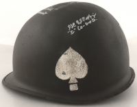 """Band of Brothers US Army Helmet Signed by (6) with Herb Suerth Jr., Ed Shames, Al Mampre, """"Wild Bill"""" Guarnere with Multiple Inscriptions (Beckett LOA) at PristineAuction.com"""