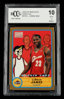 LeBron James 2003-04 Bazooka Parallel #276 (BCCG 10) at PristineAuction.com