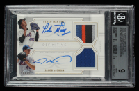 Pedro Martinez / Jacob deGrom 2020 Topps Definitive Collection Dual Autograph Relics #DARMD #01/10 (BGS 9) at PristineAuction.com
