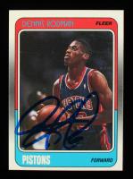 Dennis Rodman Signed 1988-89 Fleer #43 RC (JSA COA) at PristineAuction.com
