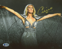 Celine Dion Signed 8x10 Photo (Beckett COA) (See Description) at PristineAuction.com
