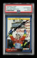 Jeff Gordon Signed 2003 NASCAR 1995 Winston Cup Champion (PSA Encapsulated) at PristineAuction.com