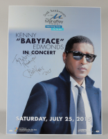 """Babyface Signed 28x38 Lobby Card Inscribed """"Thank You"""" & """"2015"""" (JSA COA) at PristineAuction.com"""