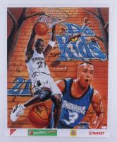"Kevin Garnett & Stephon Marbury Signed ""Da Kids Minnesota Timberwolves"" 20x24 Poster (JSA COA) (See Description) at PristineAuction.com"