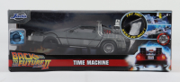 """Christopher Lloyd Signed """"Back to the Future II"""" DeLorean Time Machine 1:24 Scale Diecast Car (Beckett COA) at PristineAuction.com"""