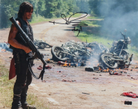 """Norman Reedus Signed """"The Walking Dead"""" 16x20 Photo Inscribed """"Daryl"""" (Radtke COA) (See Desription) at PristineAuction.com"""