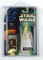 """Carrie Fisher Signed """"Star Wars"""" The Power of The Force Princess Leia Action Figure (Beckett LOA) (See Description) at PristineAuction.com"""