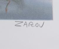 "Victor Zarou Signed ""Livraison Gratuite"" Limited Edition 21x29 Lithograph (Pristine Auction LOA & JSA LOA) (See Description) at PristineAuction.com"
