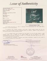 "Peter Max Signed 21x27 Custom Framed Cut Display Inscribed ""Love, 2016"" (JSA LOA) (See Description) at PristineAuction.com"