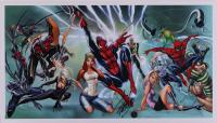 "Stan Lee Signed ""Marvel"" 14x25 Poster (Beckett LOA & Lee Hologram) at PristineAuction.com"