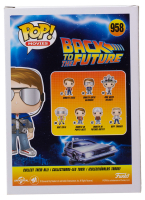 """Michael J. Fox Signed """"Back To The Future"""" #958 Marty with Glasses Funko Pop! Vinyl Figure (Beckett Hologram) at PristineAuction.com"""