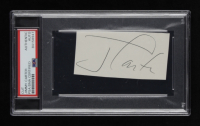 Jimmy Carter Signed 2x4 Cut (PSA Encapsulated) at PristineAuction.com