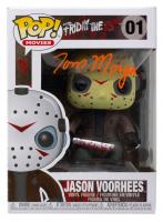 "Tom Morga Signed ""Friday The 13th"" #01 Jason Voorhees Funko Pop! Vinyl Figure (JSA COA) at PristineAuction.com"