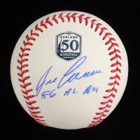 "Jose Canseco Signed Athletics OML 50th Anniversary Baseball Inscribed ""86 AL ROY"" (JSA COA) (See Description) at PristineAuction.com"