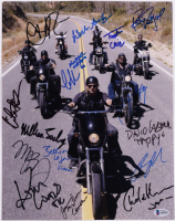 """""""Sons of Anarchy"""" 11x14 Photo Cast-Signed by (15) with Charlie Hunnam, Katey Sagal, Tommy Flanagan, Kim Coates, Ron Perlman with Inscriptions (Beckett LOA) at PristineAuction.com"""