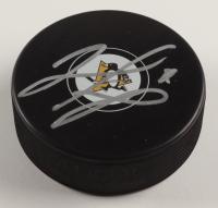 Matt Murray Signed Penguins Logo Hockey Puck (JSA COA) at PristineAuction.com