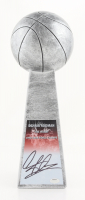 "Dennis Rodman Signed 15"" Basketball Championship Trophy (Schwartz Sports COA) at PristineAuction.com"