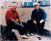 Arnold Palmer & Jack Nicklaus Signed 16x20 Photo (Beckett LOA) at PristineAuction.com