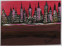 """Henry Hill Signed 9x12 Painting Inscribed """"HH 2010"""" (Beckett COA) at PristineAuction.com"""
