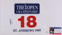 """Arnold Palmer Signed St. Andrews 1995 """"The Open Championship"""" Golf Pin Flag (PSA COA) at PristineAuction.com"""