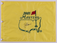 Jack Nicklaus Signed 2005 Masters Golf Pin Flag (Beckett LOA) at PristineAuction.com