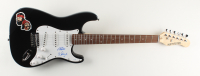 """Cheech Marin & Tommy Chong Signed 39"""" Cheech & Chong Logo Electric Guitar Inscribed """"19"""" (AutographCOA COA) at PristineAuction.com"""