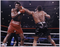 Mike Tyson Signed 11x14 Photo with Multiple Inscriptions (Beckett COA) at PristineAuction.com