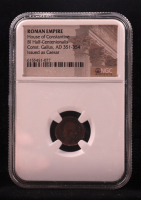 Const. Gallus - AD 351-354 - Bi Centenionalis - Issued as Ceasar - Roman Empire Bronze Coin - House of Constantine (NGC Encapsulated) at PristineAuction.com
