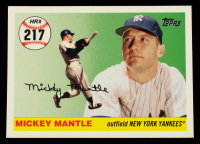Mickey Mantle 2006 Topps Mantle Home Run History #217 at PristineAuction.com