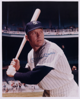 Mickey Mantle Signed Yankees 16x20 Photo (Beckett LOA) (See Description) at PristineAuction.com