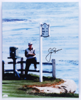 Jack Nicklaus Signed 16x20 Photo On Canvas (JSA LOA) at PristineAuction.com