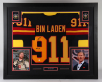 """Robert O'Neill Signed 35x43 Custom Framed Jersey Display Inscribed """"5/2/11"""" (PSA COA) at PristineAuction.com"""